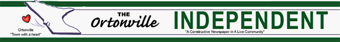 The Ortonville Independent banner